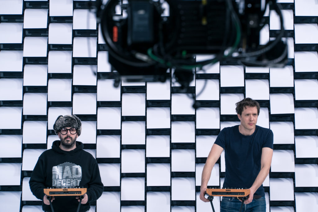 OK Go's New Music Video Finds Itself Obsessed With Visuals