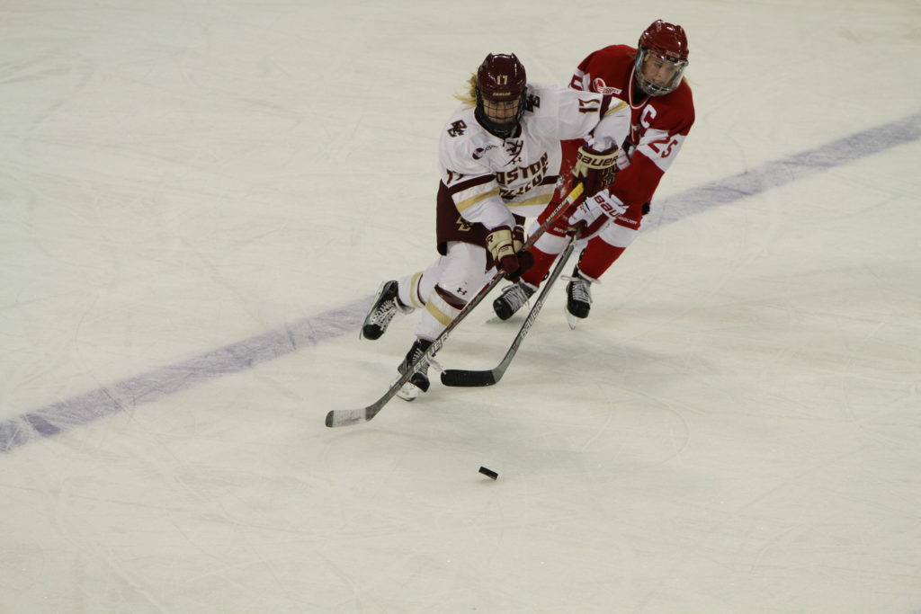 In Back-and-Forth Affair, Eagles Tie BU