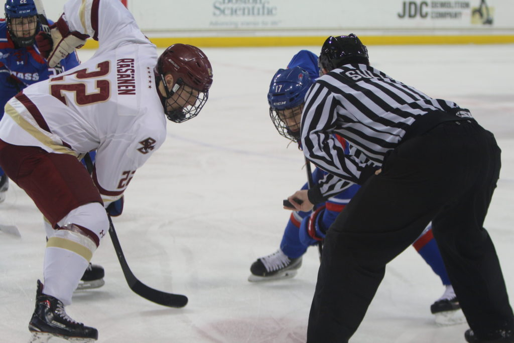 Notebook: Eagles Impress in Second Period, Finally Beat Lowell