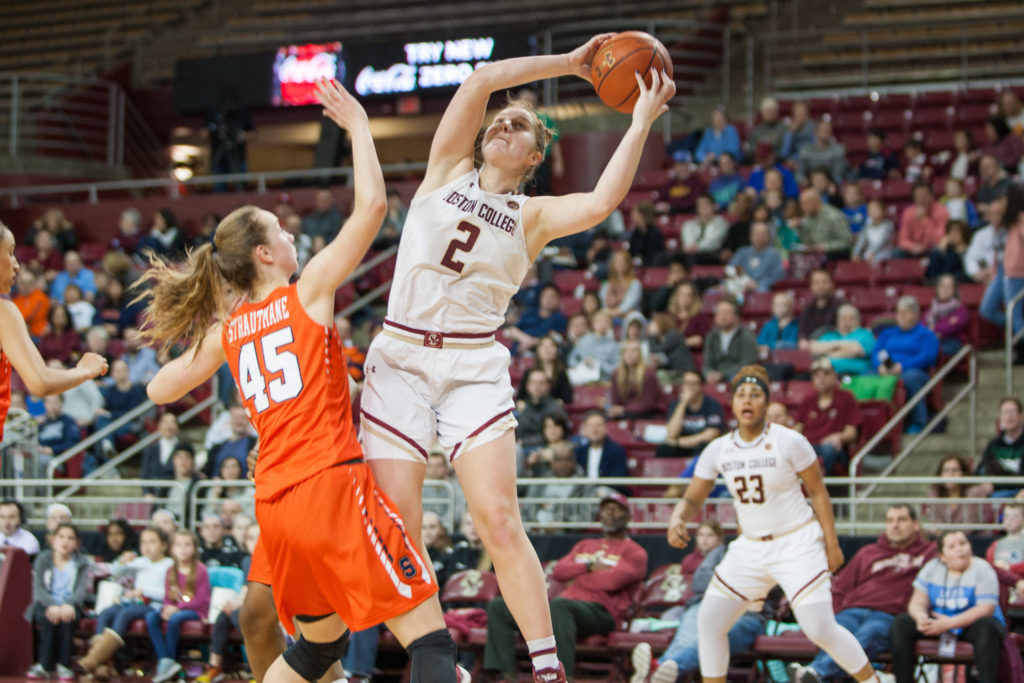 Skid Hits Six as Turnover-Plagued Eagles Fall to 'Cuse