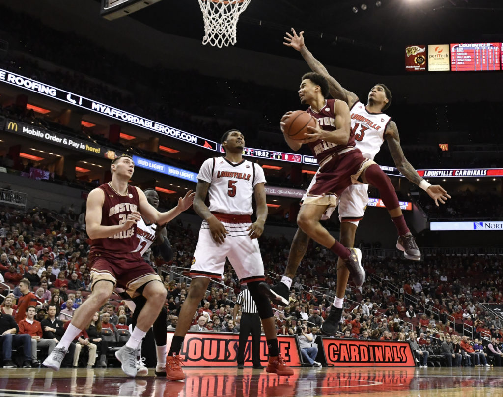 Notebook: Road Woes Continue for Eagles in Louisville