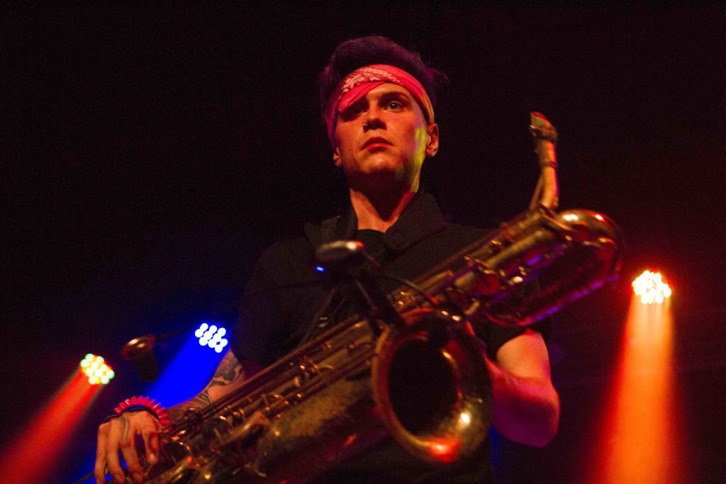 Too Many Zooz Go Wild at Sinclair Concert