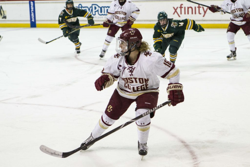 Miano Saves the Day Against UVM With Two Third-Period Goals