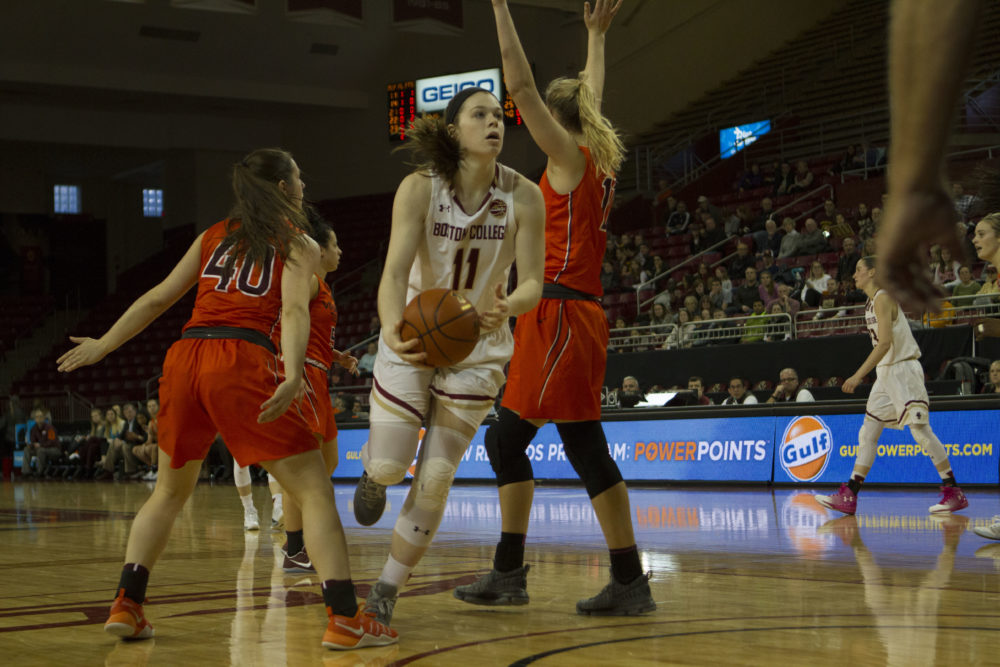 After Staging Comeback at Clemson, BC Falls in Double Overtime