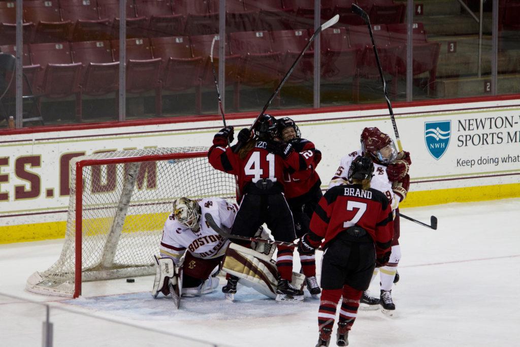 Northeastern Snaps BC's 12-Game Unbeaten Streak