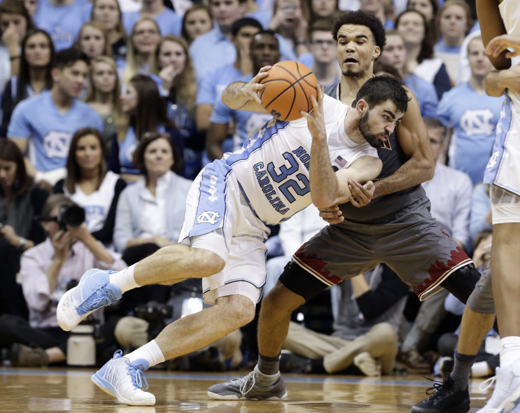 BC Gets Devoured on the Glass in Blowout Loss to No. 20 UNC
