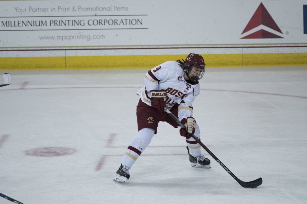 Watts Leads the Charge in Eagles' Rout of Merrimack