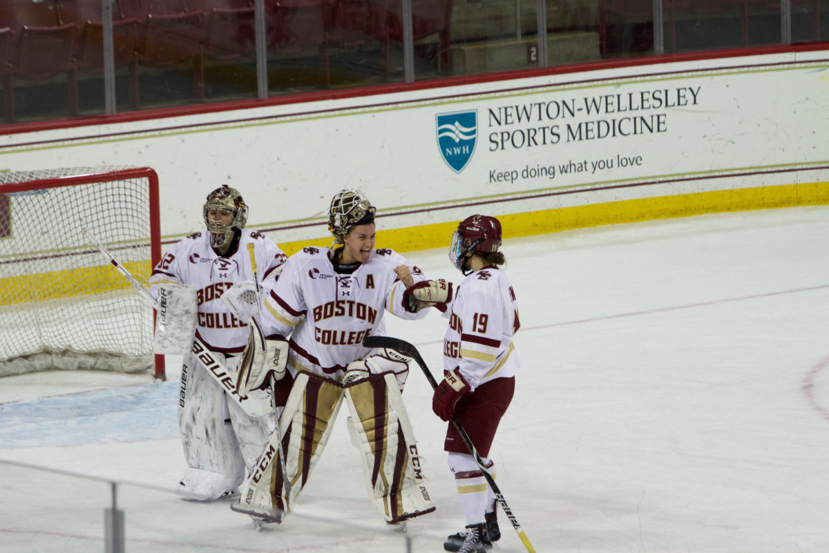 BC's Scoring Frenzy Continues in Shutout of New Hampshire