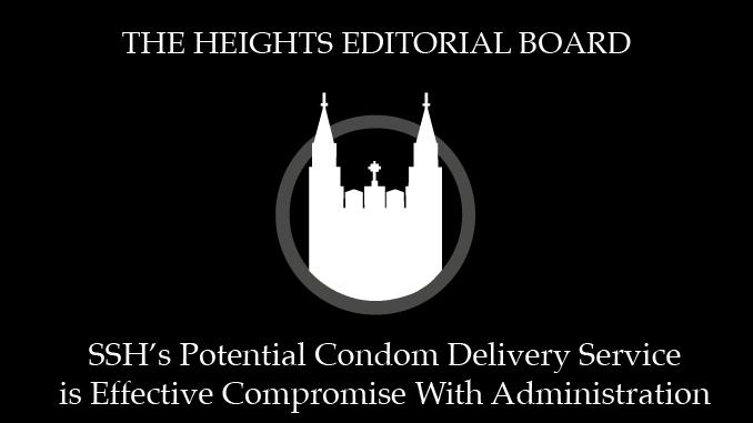 SSH's Potential Condom Distribution Service Proposes Pragmatic Alternative