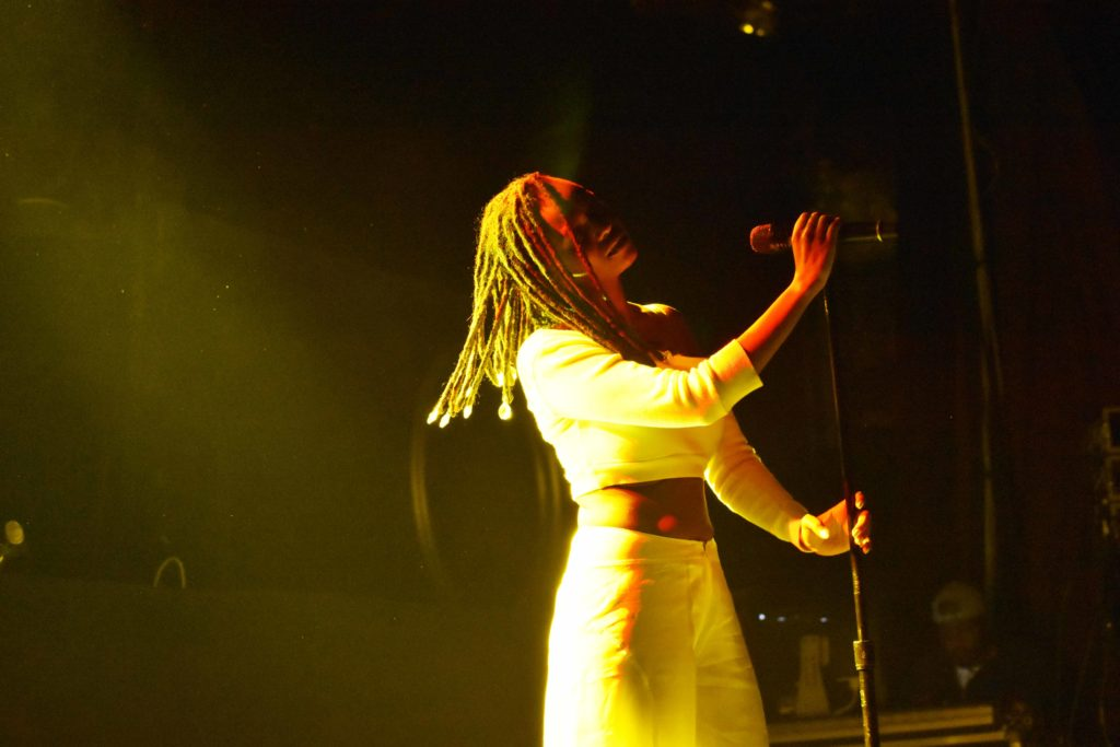 Kelela Provides an Intimate, Impressive Performance at Royale