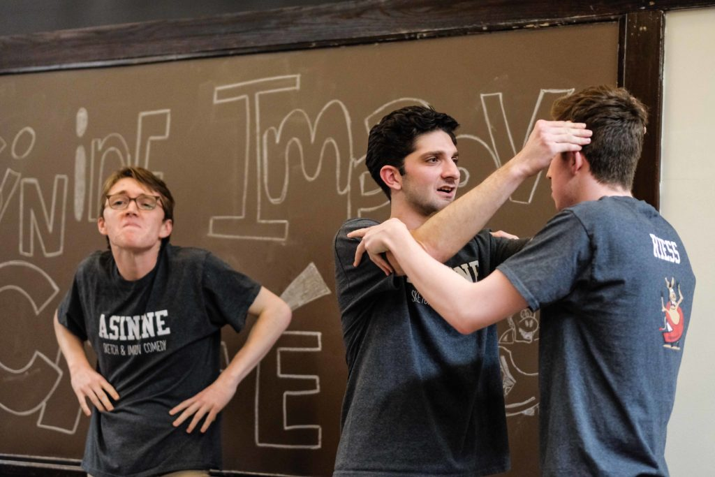 Asinine Entertains Audiences with Improvised Comedy at Spring Cafe