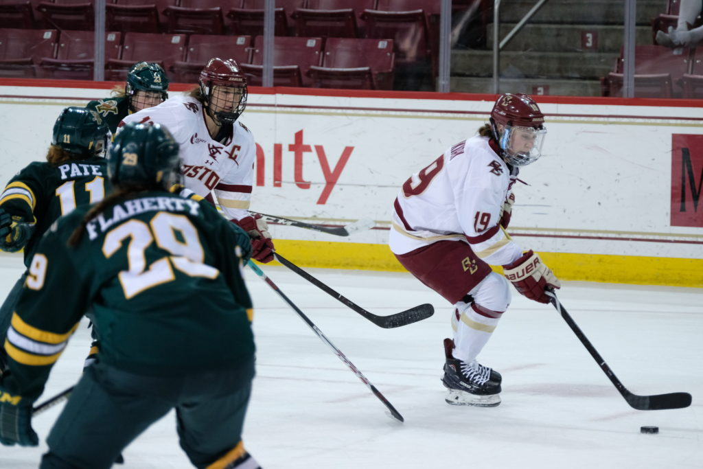 BC Kicks off Postseason With Commanding Victory Over Vermont