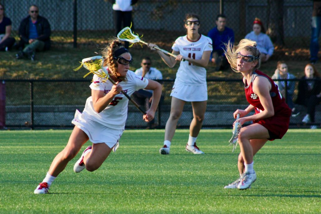 Arsenault, Apuzzo Lift Eagles to Second Top-20 Win