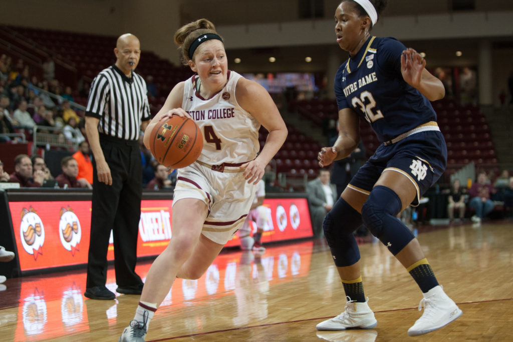 BC Hindered by Turnovers, Lack of Paint Presence in 34-Point Loss