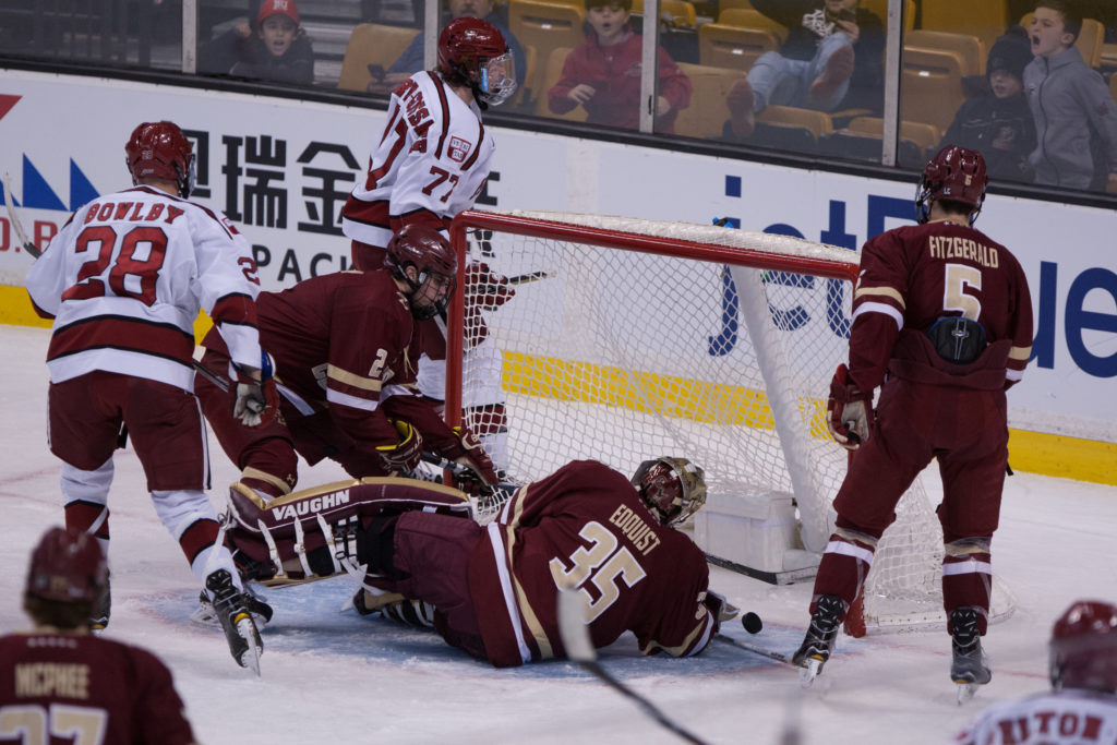 For Second Year in a Row, Eagles Fall in Beanpot Consolation Game
