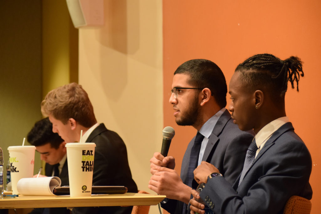 UGBC Teams Discuss Goals, Qualifications at Final Debate