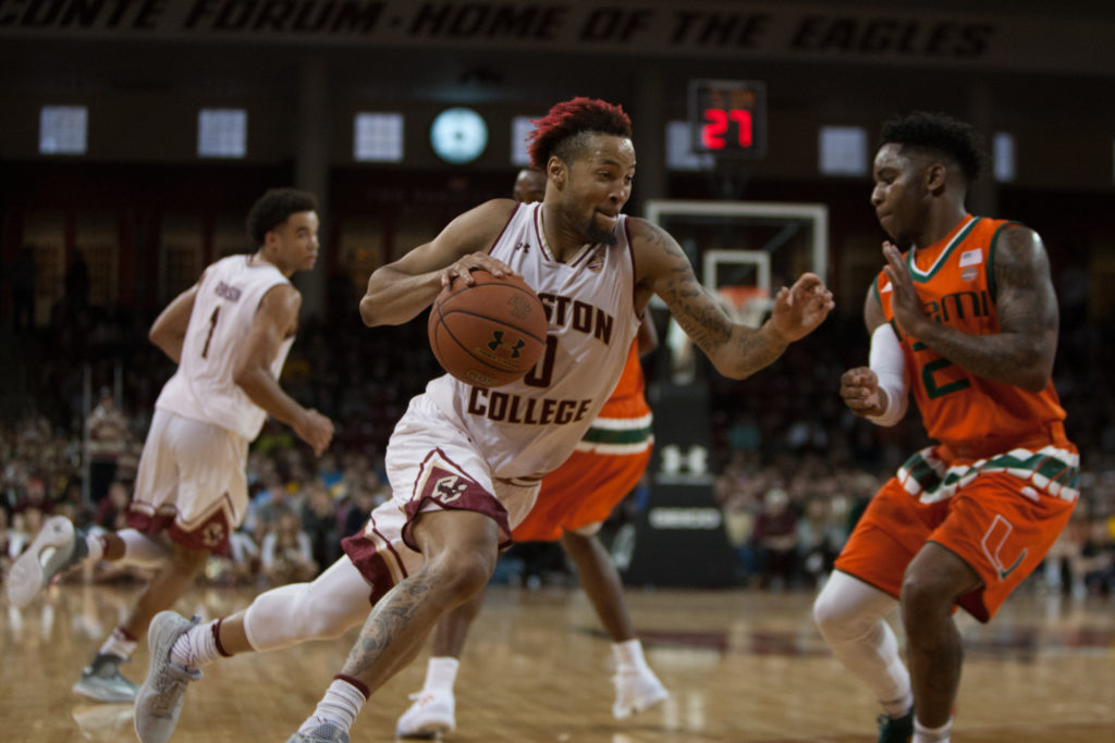 BC Buckles Down in Final Minutes to Knock off No. 25 Miami