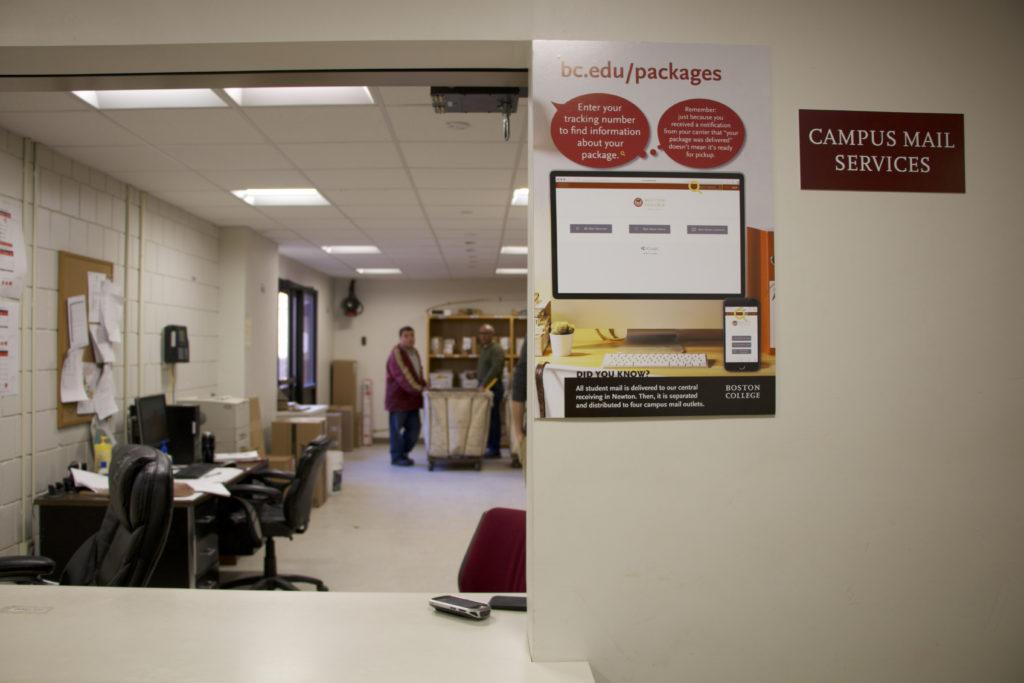 Mailroom Increases Efficiency, Implements Amazon Lockers