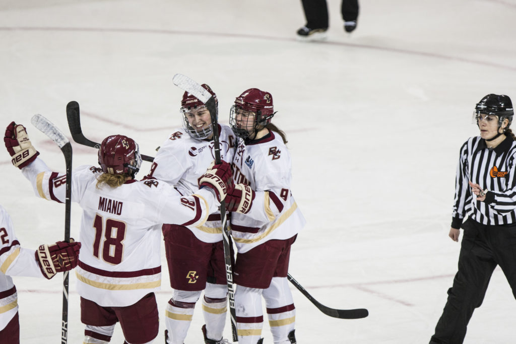 BC Books Trip to Sixth-Straight Beanpot Final With Win Over Huskies