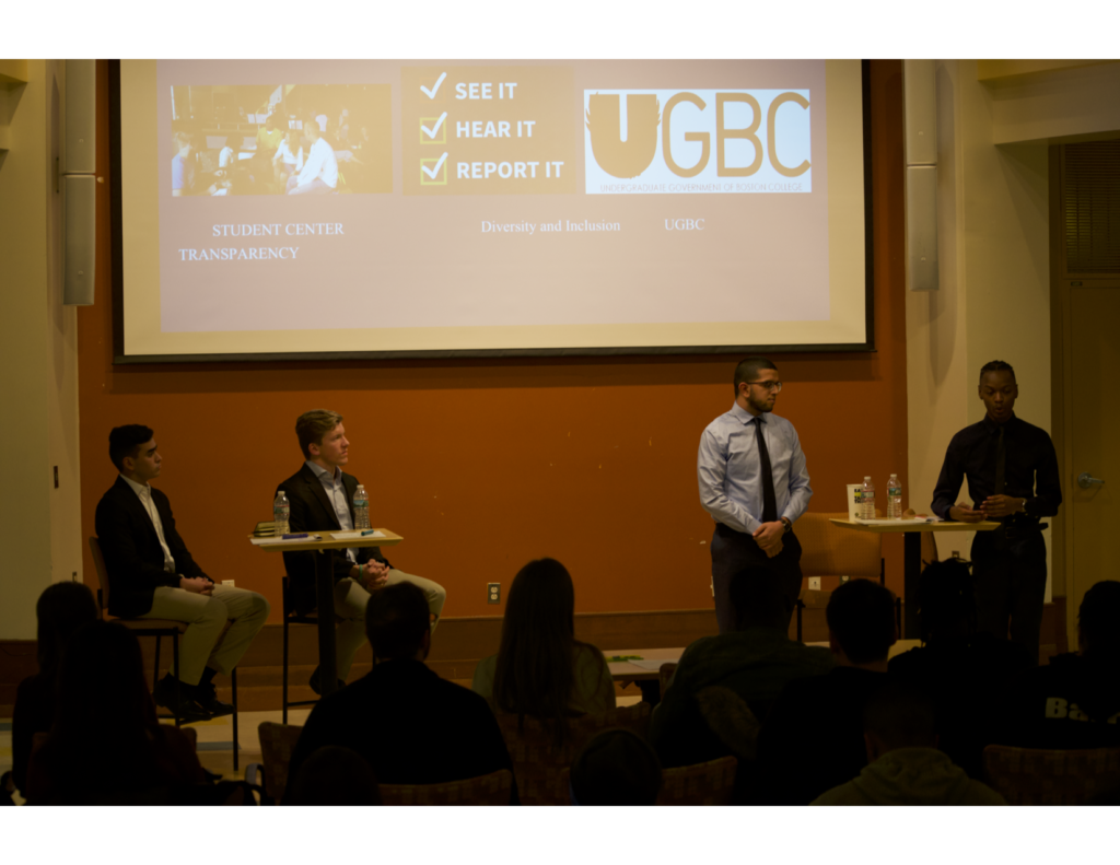 UGBC Presidential Campaign Kickoff Event Marks Start of Election Season