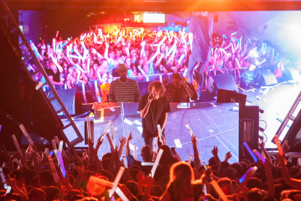 Cheat Codes Fill the Plex with Bumping EDM Music