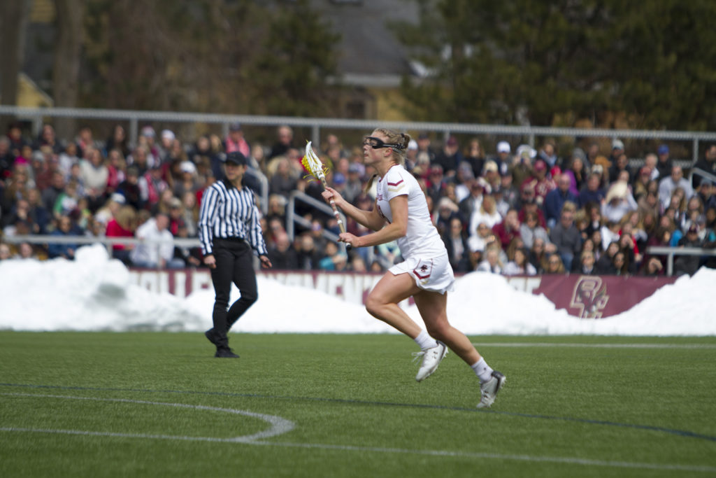 Arsenault, Hart, Chandler Record Hat Tricks in Victory over No. 7 Virginia