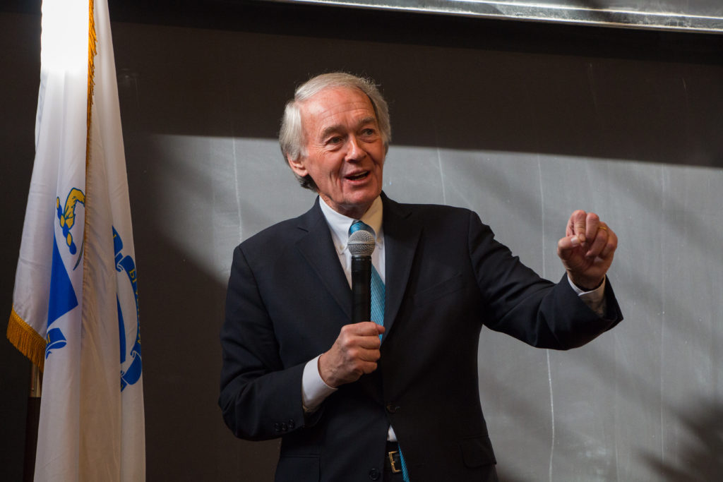 Markey Urges Students to Stay Active After March for Our Lives
