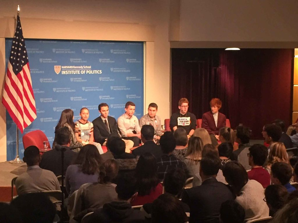 Parkland Students Discuss Gun Control at Harvard