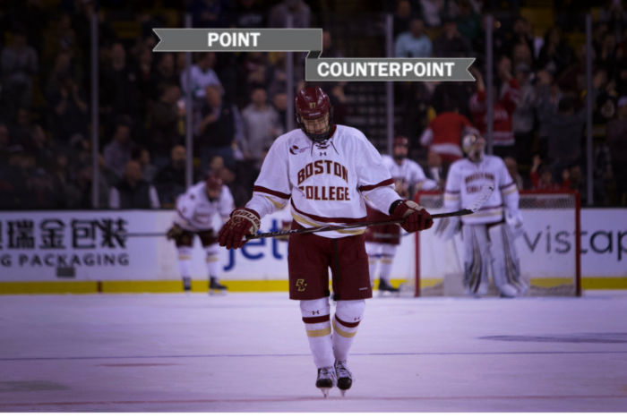 Point/Counterpoint: Was Men's Hockey's Season Encouraging?