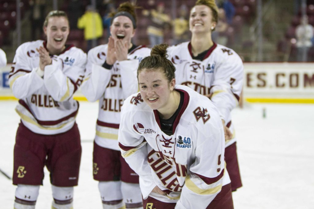Watts Becomes First Freshman in NCAA History to Win Patty Kazmaier Award