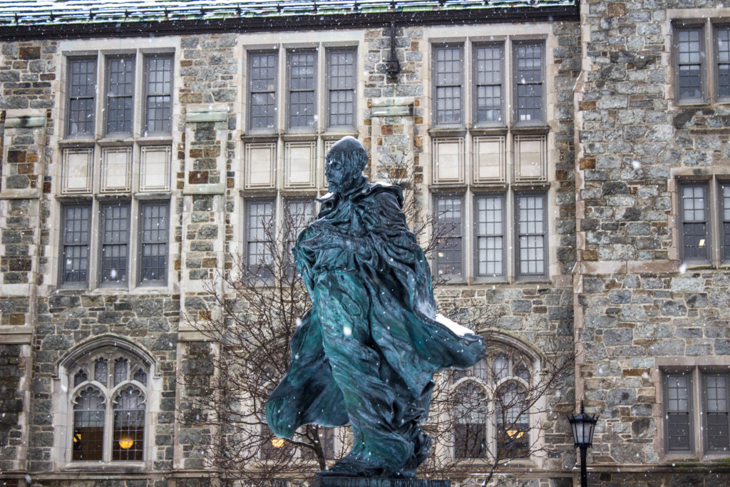 Powerful Nor'easter Causes University to Close