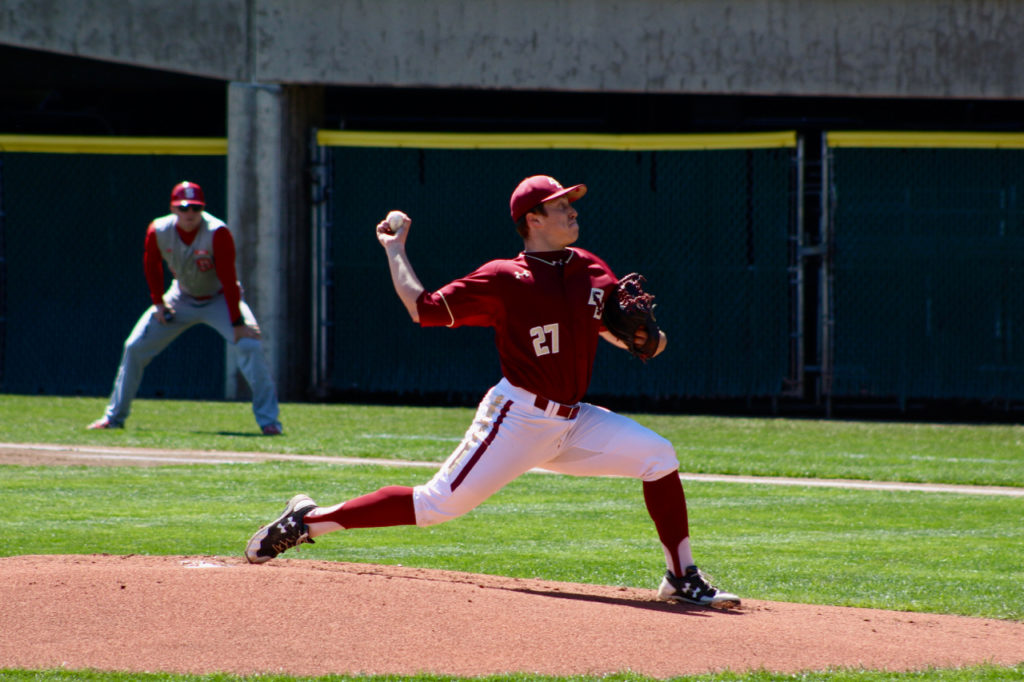 Offensive Outburst Helps Eagles Avoid Sweep in First ACC Series