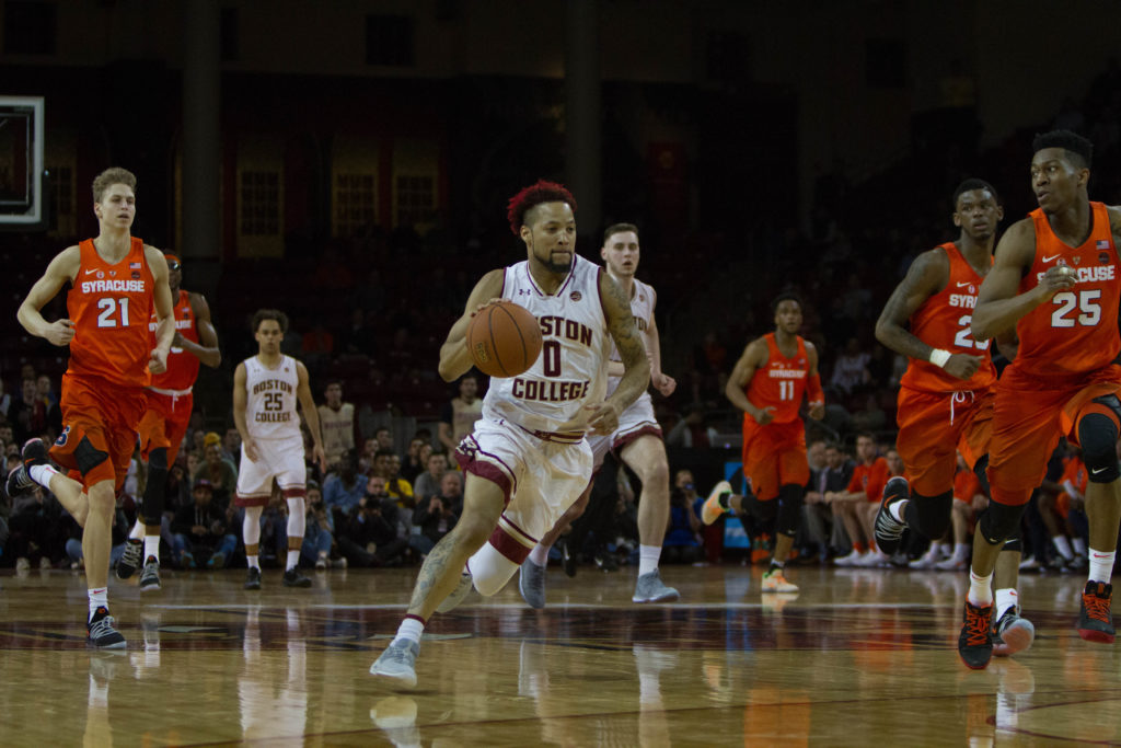 Notebook: BC Picks Apart Boeheim's Zone, Finishes Strong in Bounce-Back Victory