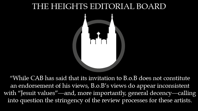Editorial: B.o.B Selection Raises Questions About CAB Vetting Processes