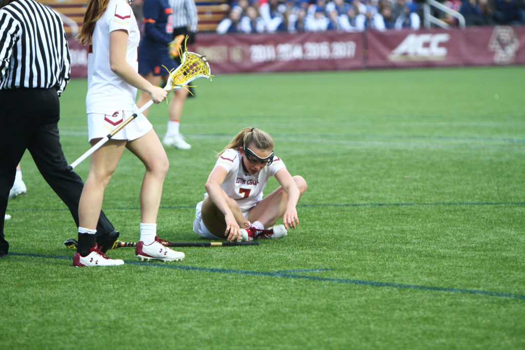 BC Falls Short of ACC Championship, Loses First Game of Season to No. 5 UNC