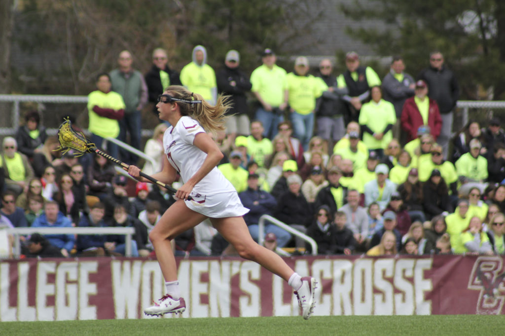 BC Runs Away With 13-Goal ACC Quarterfinal Victory Over Louisville