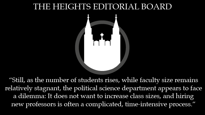 Political Science Department Needs to Adjust Course Requirements