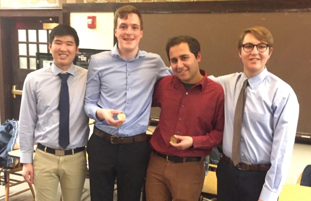 Valdez Wins 126th Annual Fulton Prize Debate