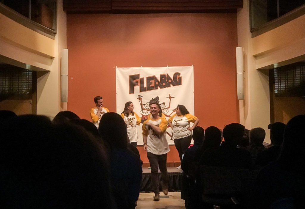 Fleabag Improvises Clever Comedy at 'Spring Big Show'