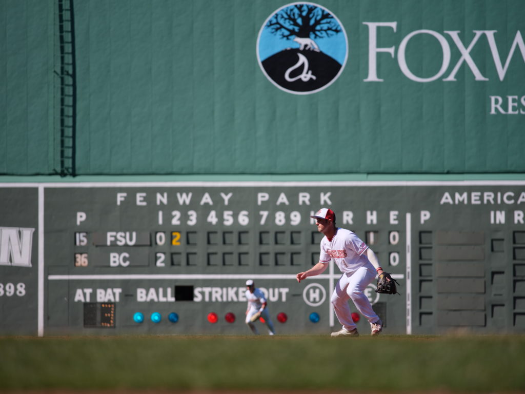 Fans Show Up, but Eagles Fall at Fenway in ALS Awareness Game