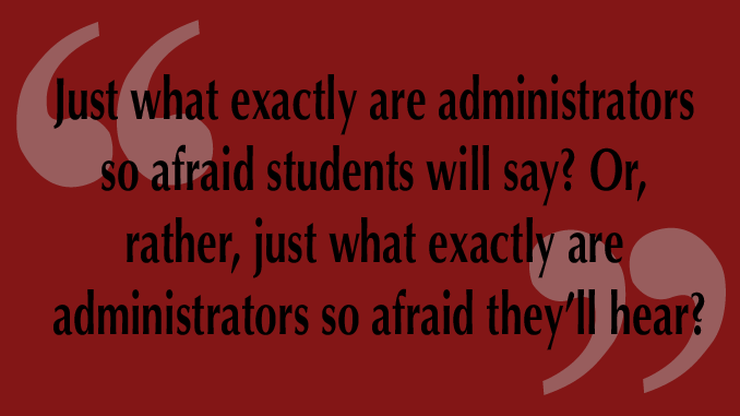 "LTE: In Response to: ""Two Students Accused of Property Damage For Chalking"""