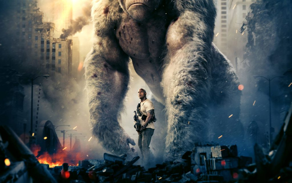 'Rampage' Employs Lackluster Acting and Inferior Video Game Plot