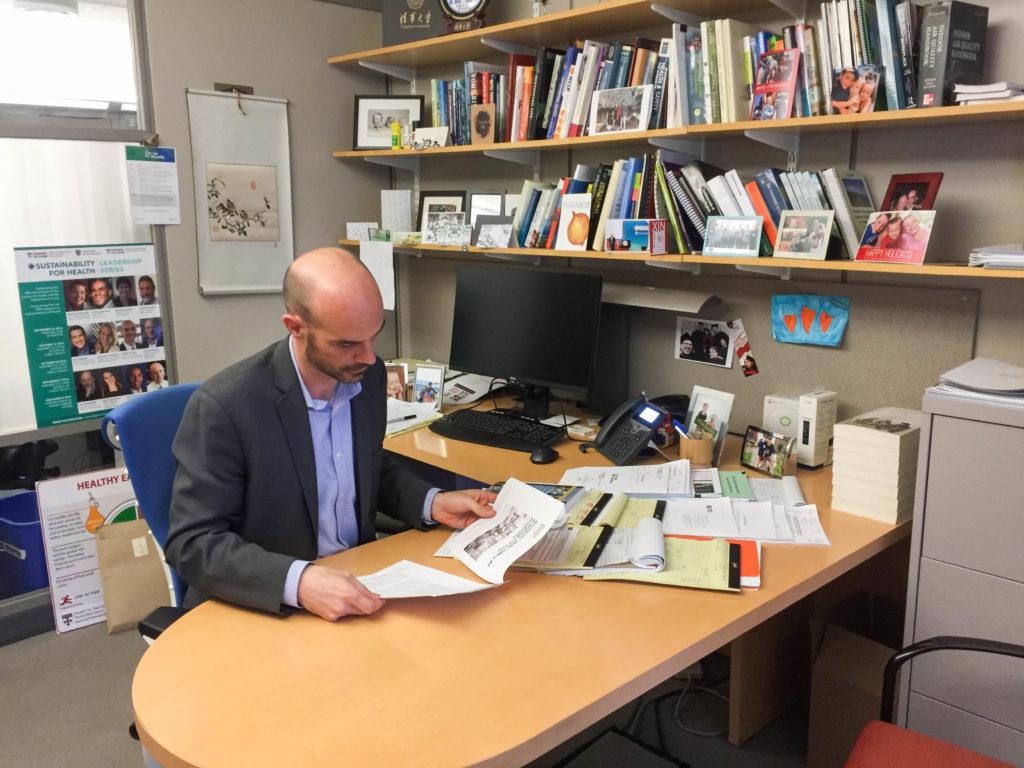 Joseph Allen, BC '98, Explores Link Between Buildings and Overall Health