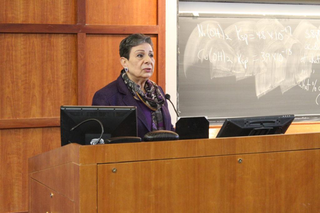 Palestinian Legislator Highlights Tensions Between Israel and Palestine
