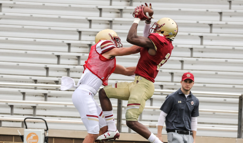McDonald, Robinson Impress in Jay McGillis Memorial Spring Game