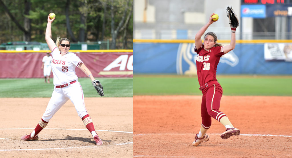 Dreswick, Frei Cementing Legacy as Best Pitching Tandem in BC Softball History