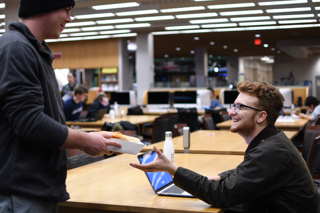 On-Campus Food Delivery Service BC GET Experiences Success After Launch