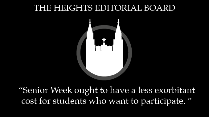 Senior Week Needs Funding for Students Struggling Financially