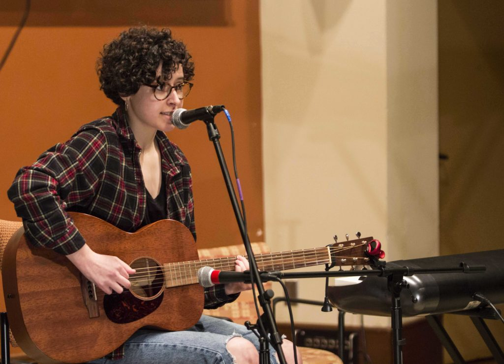 Students Offer Steep Sonic Competition at 'Singer Songwriter'