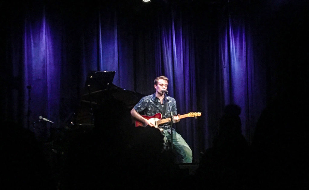 Berklee Students Strike a Chord at Open Mic Night